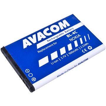 AVACOM za Nokia 6300 Li-ion 3.7V 900mAh (náhrada BL-4C) (GSNO-BL4C-S900A) + ZDARMA Baterie AVACOM Ultra Alkaline AA 4ks v blistru