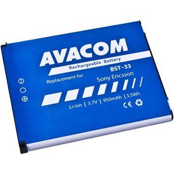 AVACOM pro Sony Ericsson K550i, K800, W900i Li-Ion 3.7V 950mAh (náhrada BST-33) (GSSE-W900-S950A)