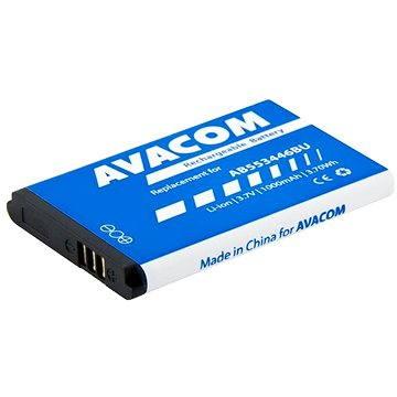 AVACOM pro Samsung B2710, C3300 Li-Ion 3.7V 1000mAh, (náhrada AB553446BU) (GSSA-2710-1000A)