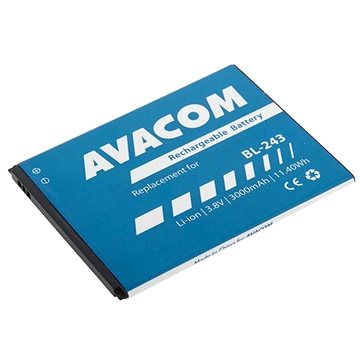 Avacom pro Lenovo A7000 Li-Ion 3,8V 3000mAh (náhrada BL243) (GSLE-BL243-3000)