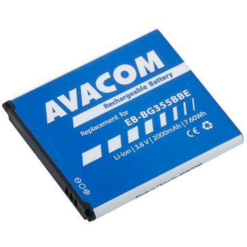 AVACOM pro Samsung Core 2 Li-Ion 3,8V 2000mAh, (náhrada EB-BG355BBE) (GSSA-G355-S2000)