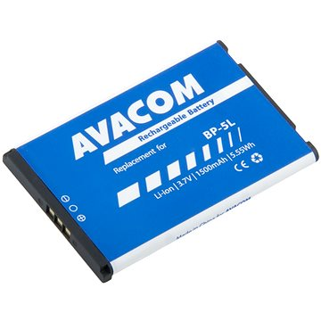 AVACOM pro Nokia 9500, E61 Li-Ion 3.7V 1500mAh (GSNO-BP5L-S1500)