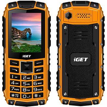 iGET Defender D10 oranžová (D10 Orange)