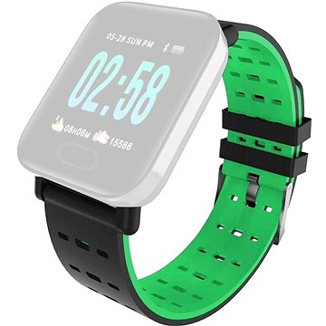 IMMAX pro hodinky SW11, černo-zelený (05044)