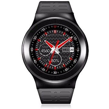 Chytré hodinky IMMAX SW3 černé (09004) + ZDARMA LED žárovka Patona LED chytrá žárovka E27 Bluetooth RGB