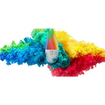 Immax Neo E14 5W barevná + teplá bílá, stmívatelná, 2ks + ovladač (07005BD)