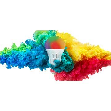 Immax Neo E27 8,5W barevná + teplá bílá, stmívatelná + ovladač (07004D)