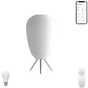 Immax NEO COCONO 07064L Smart 43x24cm bílé sklo (07064L)