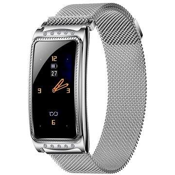IMMAX Crystal Fit stříbrné (09034)
