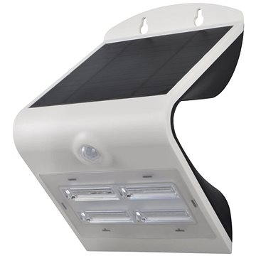 Immax SOLAR LED reflektor s čidlem, 2W, stříbrná (08425L)