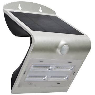 Immax SOLAR LED reflektor s čidlem, 3.2W, stříbrná (08428L)