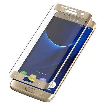 ZAGG invisibleSHIELD Glass Contour Samsung Galaxy S7 Edge zlaté (ZGG7ECGS-GD0)