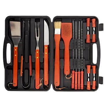 InnovaGoods BBQ Master Tools sada na grilování 18ks B1530174 (B1530174)