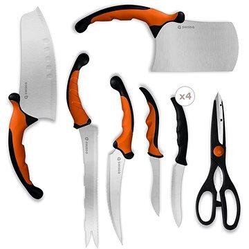 Innova Goods Sada nožů z nerez oceli 10ks Swiss Q (B1005135)