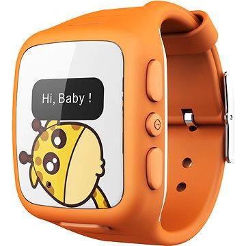 Chytré hodinky intelioWATCH oranžové