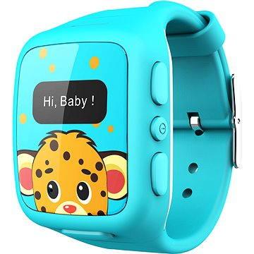 Chytré hodinky intelioWATCH modré + ZDARMA SIM karta GoMobil s kreditem 100Kč