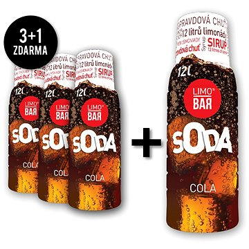 LIMO BAR Sirupy Cola pack (LB0531CP)