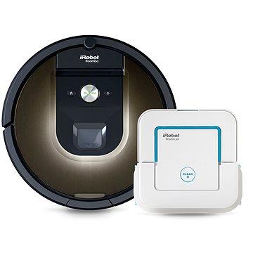 iRobot Roomba 980 + iRobot Braava jet 240 zdarma (R980B240)