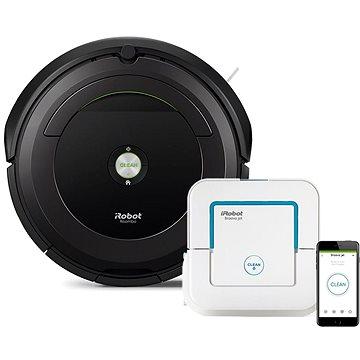 iRobot Roomba 696 + Brava jet 240 (R696B240)