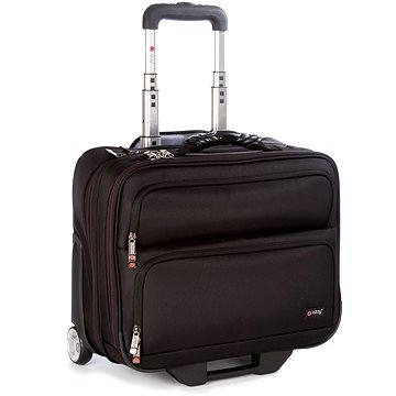 "i-Stay 15.6"" & up to 12"" laptop/tablet Trolley case Black (is0205)"