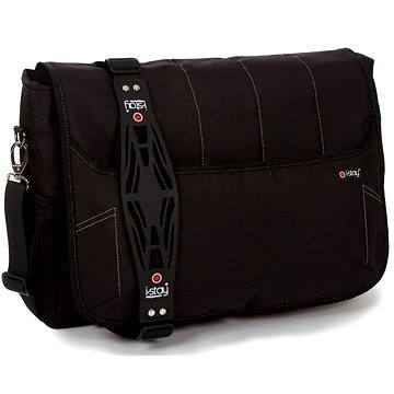 i-Stay Black 15.6 & Up to 12 Laptop / Tablet Messenger Bag (is0302)