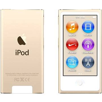 iPod Nano 16GB Gold (MKMX2HC/A)