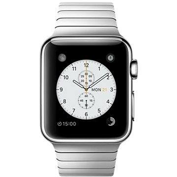 Chytré hodinky Apple Watch 38mm Nerez ocel s článkovým tahem (mj3e2hc/a)