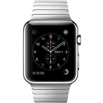 Chytré hodinky Apple Watch 42mm Nerez ocel s článkovým tahem (mj472hc/a)