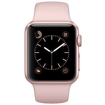 Chytré hodinky Apple Watch Series 2 38mm Růžově zlatý hliník s pískově růžovým sportovním řemínkem (MNNY2CN/A)