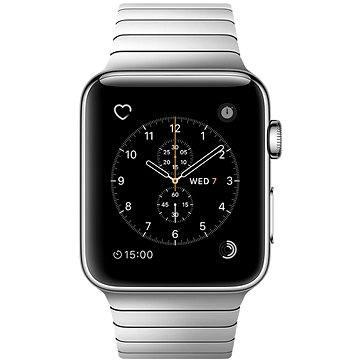 Chytré hodinky Apple Watch Series 2 38mm Nerez ocel s článkovým tahem (MNP52CN/A)
