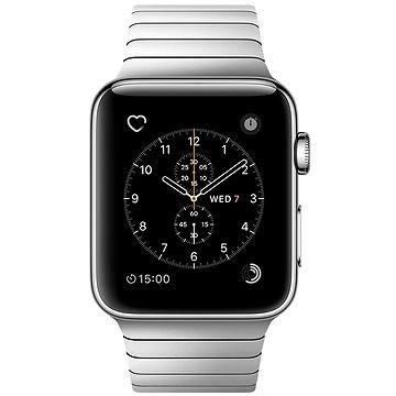 Chytré hodinky Apple Watch Series 2 42mm Nerez ocel s článkovým tahem (MNPT2CN/A)