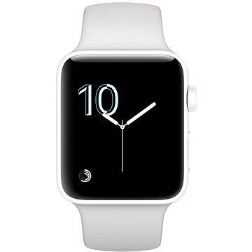 Chytré hodinky Apple Watch Series 2 Edition 38mm Bílá keramika s oblačně bílým sportovním řemínkem (MNPF2CN/A)
