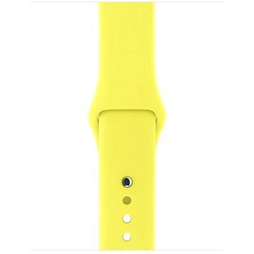 Řemínek Apple Sport 38mm Zářivě žlutý (MQUR2ZM/A)