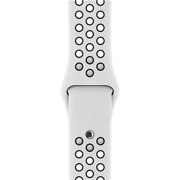 Apple Sport Nike 38mm Platinový/černý (MQWH2ZM/A)