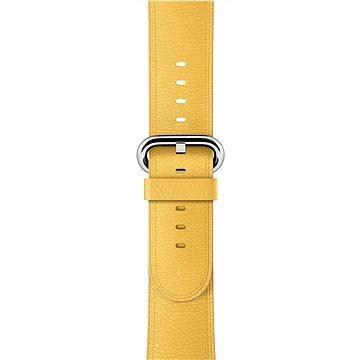 Apple 38mm Měsíčkově žlutý s klasickou přezkou (MMH72ZM/A)