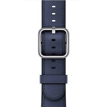 Řemínek Apple 38mm Půlnočně modrý s klasickou přezkou (mpwd2zm/a)