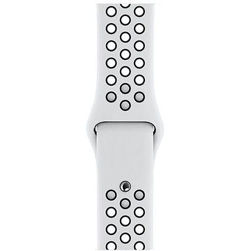 Apple Sport Nike 40mm Platinový/Černý (MTMQ2ZM/A)