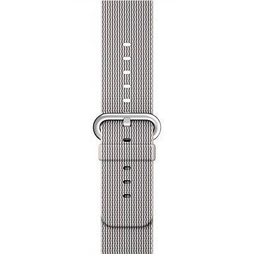 Apple Sport 42mm Perlově šedý z tkaného nylonu (MMA72ZM/A)