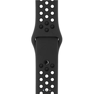 Řemínek Apple Sport Nike 42mm Antracitový/černý (MQ2T2ZM/A)