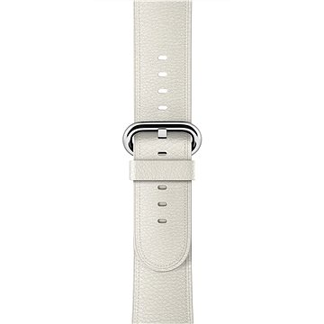 Apple 42mm Bílý s klasickou přezkou (MMGT2ZM/A)