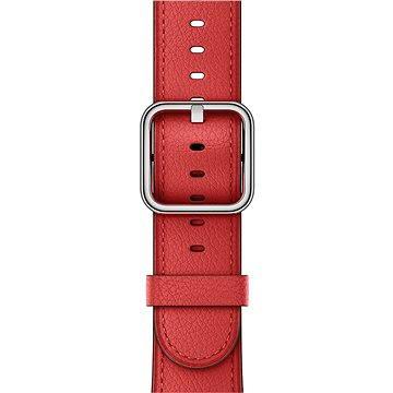 Řemínek Apple 42mm Červený s klasickou přezkou (mpwx2zm/a)