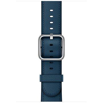 Řemínek Apple 42mm Vesmírně modrý s klasickou přezkou (MQV32ZM/A)
