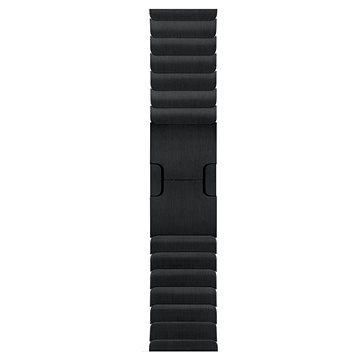 Řemínek Apple 42mm Vesmírně černý článkový tah (MJ5K2ZM/A)