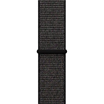 Řemínek Apple 42mm Černý provlékací sportovní (MQW72ZM/A)