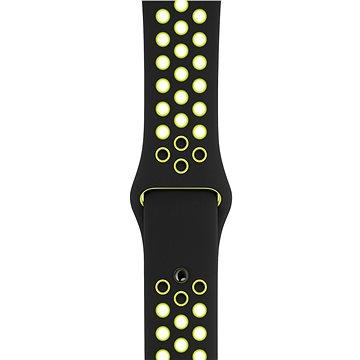 Apple Sport Nike 42mm/44mm Černý/Volt (MTMW2ZM/A)