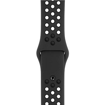 Apple Sport Nike 42mm/44mm Antracitový/Černý (MTMX2ZM/A)