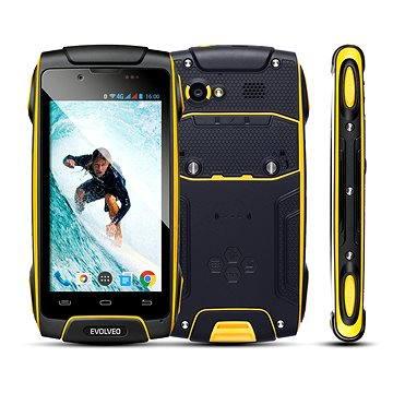 EVOLVEO StrongPhone Q8 LTE černo-žlutý (SGP-Q8-LTE-Y) + ZDARMA Poukaz Elektronický darčekový poukaz Alza.sk v hodnote 19 EUR, platnosť do 28/2/2017 Poukaz Elektronický dárkový poukaz Alza.cz v hodnotě 500 Kč, platnost do 28/2/2017