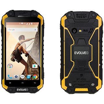 EVOLVEO StrongPhone Q9 LTE (SGP-Q9-Y) + ZDARMA Digitální předplatné Týden - roční