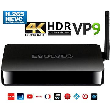 EVOLVEO Android Box H4 (ABOX-H4-HDR)