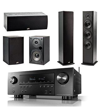 DENON AVR-S950H Black + reprosoustava Polk Audio T15 + T30 + T50